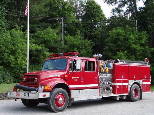 Poultney Fire Department Green Mountain Fire Photography